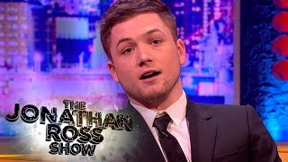 Rocketman Taron Egerton Gives Jonathan Some Much Needed Welsh Lessons - The Jonathan Ross Show