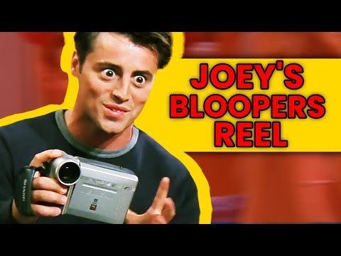 Friends Bloopers Gag Reel: Best Of Joey Tribbiani|🍿 Ossa'm Movies