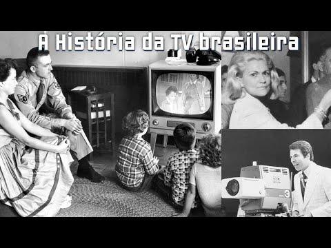 a historia da tv no brasil - YouTube