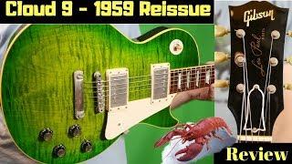 Lean, Green, Tone Machine | 2004 Gibson Les Paul 1959 Cloud Nine Reissue Green Iguana Burst Review