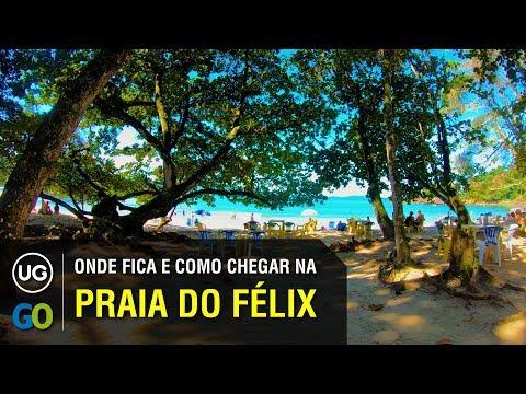 Onde fica e Como chegar na Praia do Félix em Ubatuba