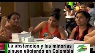 Elecciones ratificaron antidemocracia en Colombia: minorías eligieron y dominó la abstención