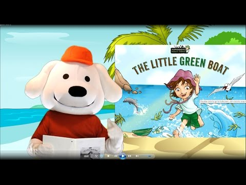 Storytime Pup Children's Book Read Aloud: The Little Green Boat. Stories for Kids.