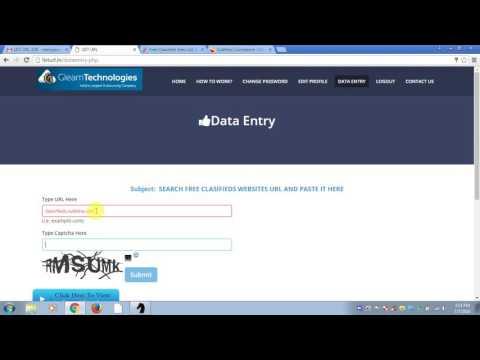 url copy paste work online job