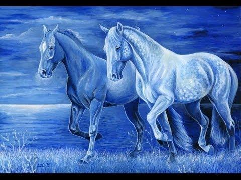 Урок 3:Голубая Лошадь из бисера