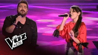 "Antonio Orozco y Flori: ""What you're made of"" - Final - La Voz Kids 2018"