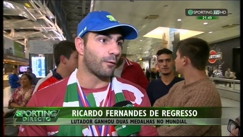 KickBoxing :: Ricardo Fernandes, Campeão do Mundo de KickBoxing e Vice-Campeão Mundial de Full Contact em 2014