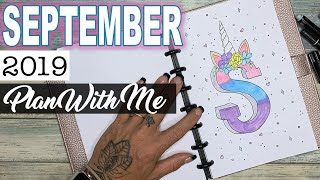 September 2019 🦄 Plan With Me | Bullet Journal Setup