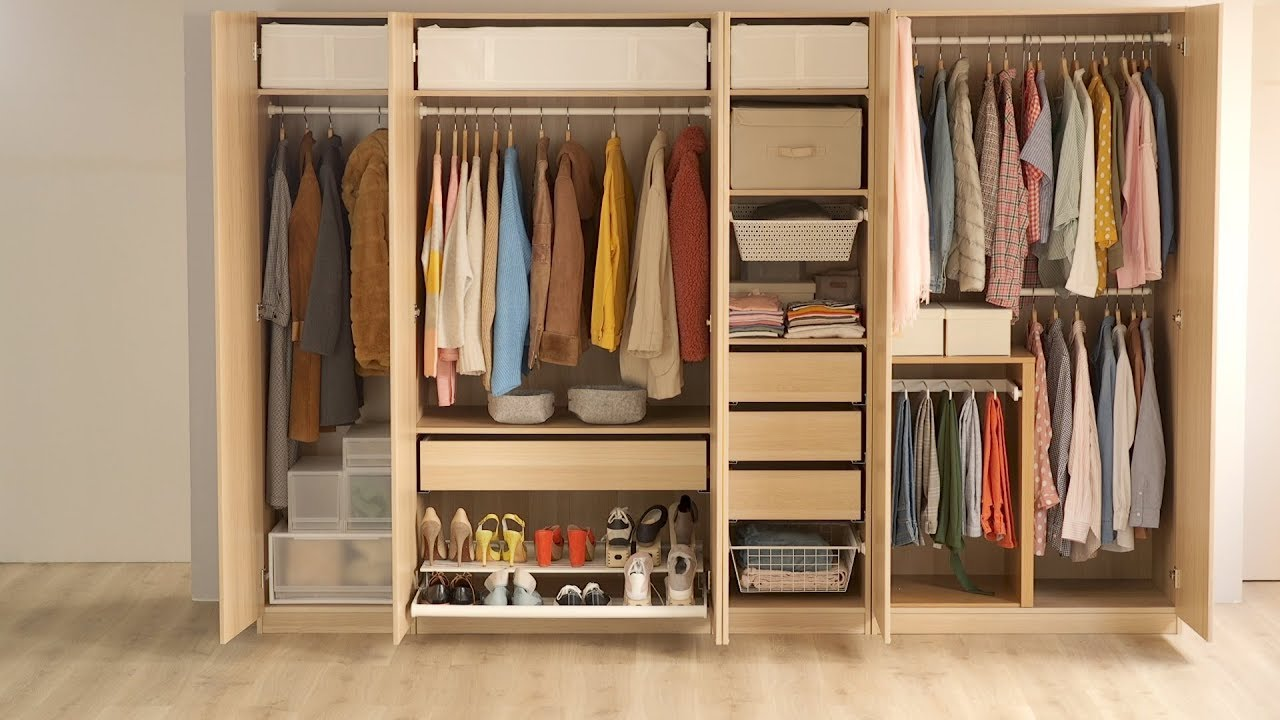 10 trucos para ampliar tu armario youtube - Armarios de habitacion ...