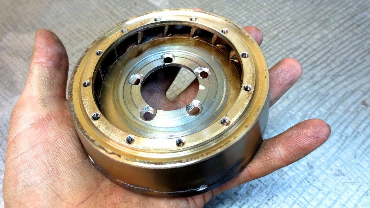 Новый сопловой аппарат для моего ТРД — Turbo jet engine nozzle