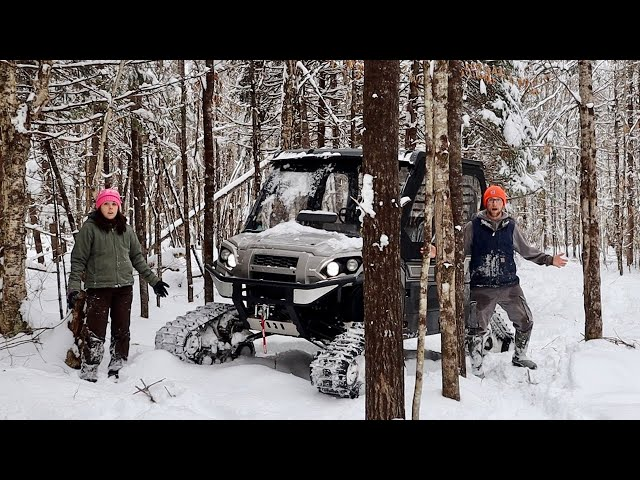 Restoring Old Abandoned Trails at the OFF-GRID Property to EXPLORE another Beaver Lodge