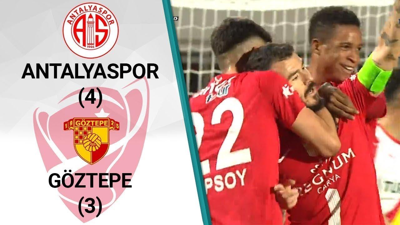 Antalyaspor 4 - 3 Göztepe MAÇ ÖZETİ (Ziraat Türkiye Kupası Son 16 Turu)