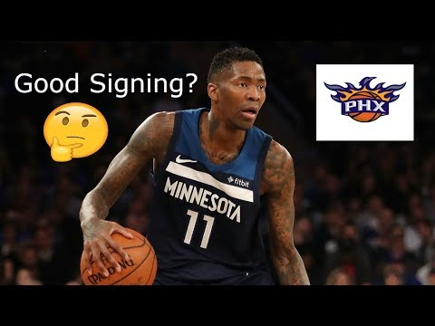JAMAL CRAWFORD SIGNS 1 YEAR DEAL WITH THE PHOENIX SUNS!