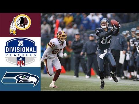 Redskins Vs Seahawks 2005 NFC Divisional (Full Game)