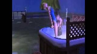 Sims2 Blitz schlägt in sim ein