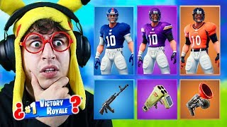 RANDOM NFL **SKIN** CHALLENGE at Fortnite Battle Royale! (New football skins)