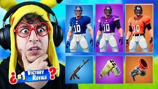 RANDOM NFL - SKIN Challenge à Fortnite Battle Royale! (Nouvelles peaux de football)
