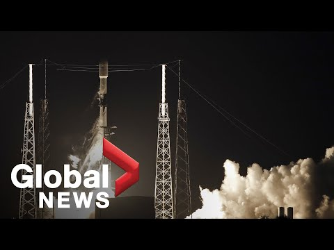 SpaceX launches internet-enhancing Starlink satellites into orbit