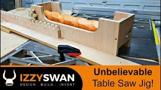 Unbelievable Table Saw Jig   How To Video