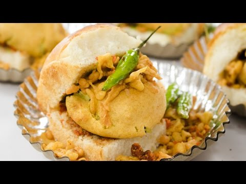 Vada Pav Recipe | How to make Mumbai Street Style Batata Wada Pav at home | Indian Street Food thumbnail