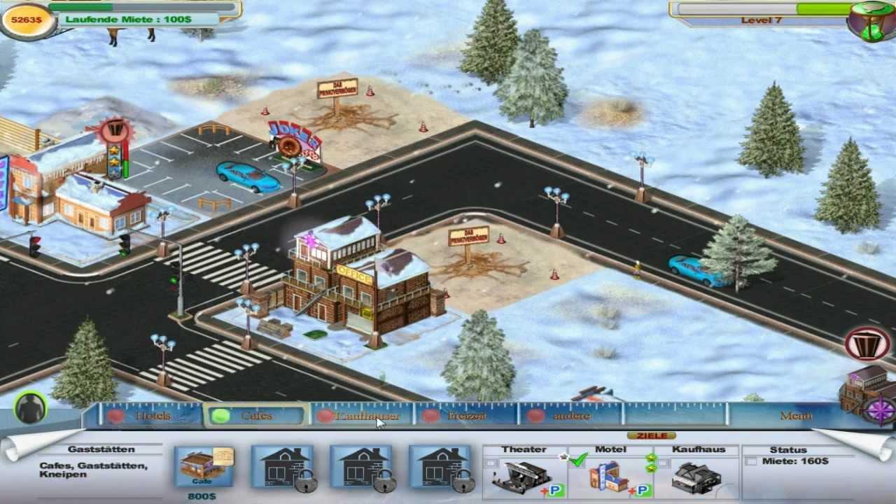 winter resort tycoon gameplay hd - youtube