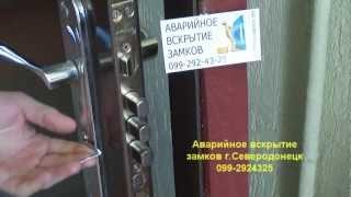 Вскрытие двери с замком Апекс(, 2013-03-01T07:15:13.000Z)
