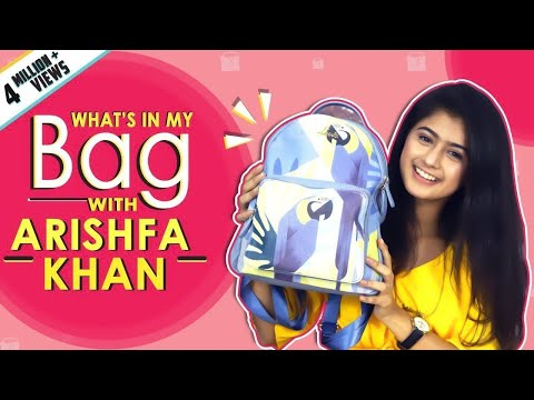 What鈥檚 In My Bag With Arishfa Khan | Bag Secrets Revealed | India Forums