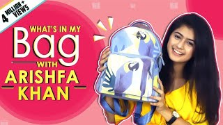 What's In My Bag With Arishfa Khan | Bag Secrets Revealed | India Forums