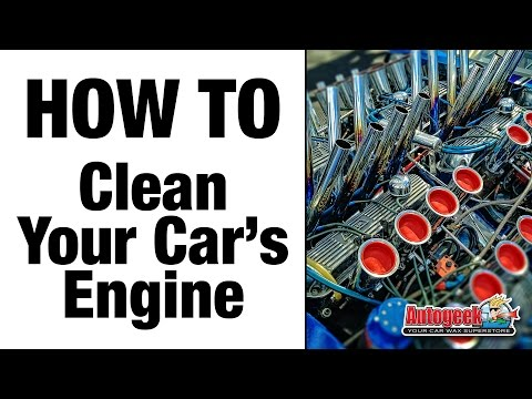 How to Clean Your Car's Engine Properly – Autogeek