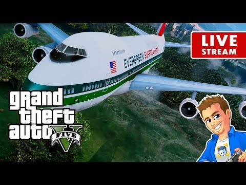 GTA 5 PC MODS - Boeing 747 Supertanker Firefighting Aircraft vs a Wildfire | GTA 5 PC Real Life Mod