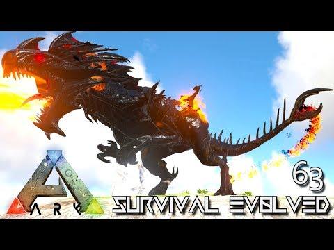 ARK: SURVIVAL EVOLVED - GODZILLA REAPER QUEEN DEMONIC EMPRESS E63 !!! ( PRIMAL FEAR PYRIA )