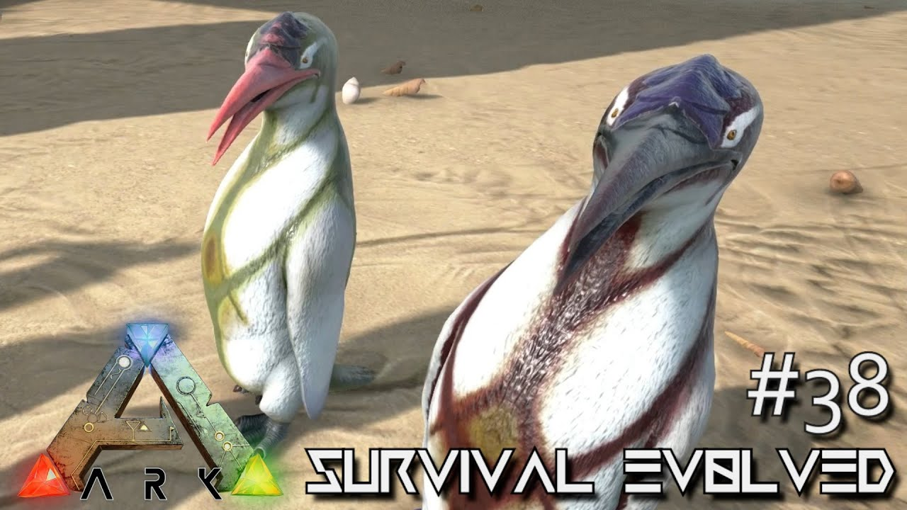 Ark survival evolved kairuku twin babies helping for Angler fish ark