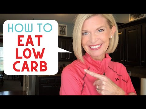 Low Carb Low Sugar Foods for a Fat Burning Meal Plan