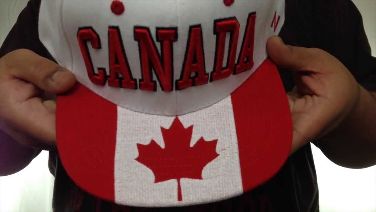 9ea5cc98577 Canada  SUPERSTAR SNAPBACK  White Hat by Zephyr - YouTube