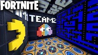 Mode de jeu PACMAN dans Fortnite Creative (Codes in Comments) PACMAN Coin Run