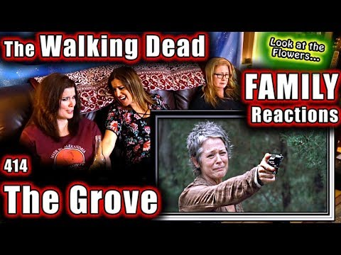 The Walking Dead | FAMILY Reactions | THE GROVE | 414