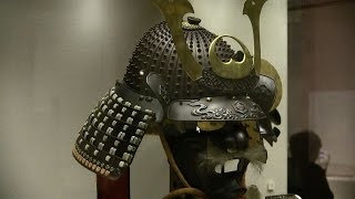Samurai armour and helmet,British Museum 大英博物館 甲冑・兜