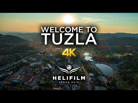 4K Welcome to Tuzla - Promo video - Ljepote Bosne i Hercegovine iz zraka