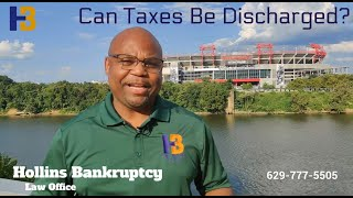 Taxes in Bankruptcy