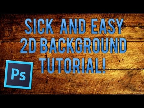 How To: Make A Clean 2d Background