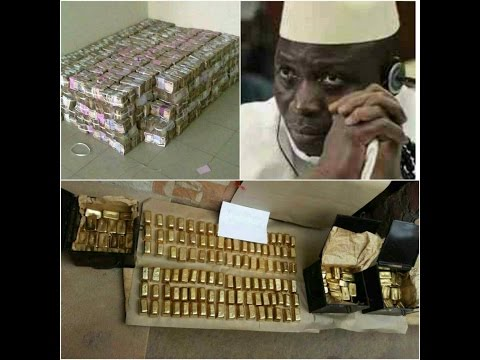 Jammeh's Stolen Treasure Found In Kanilai By ECOWAS Troops