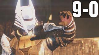 Trials of Osiris BLACK SHIELD Flawless 9-0 Victory Destiny Gameplay Crucible