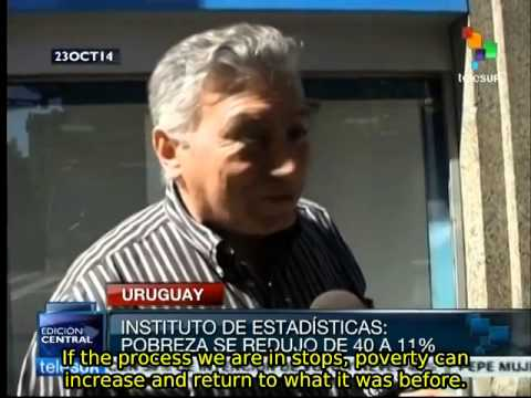 Mujica's government reduces poverty in Uruguay