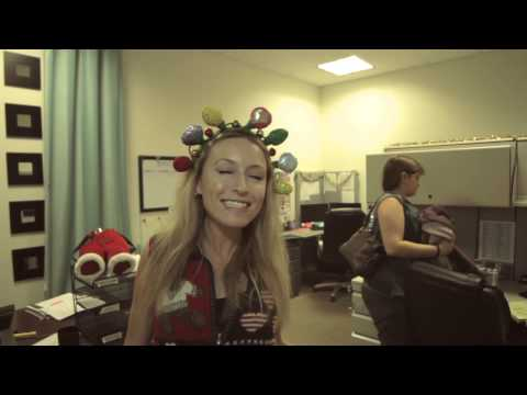 Funny Company Christmas Card Lip Dub