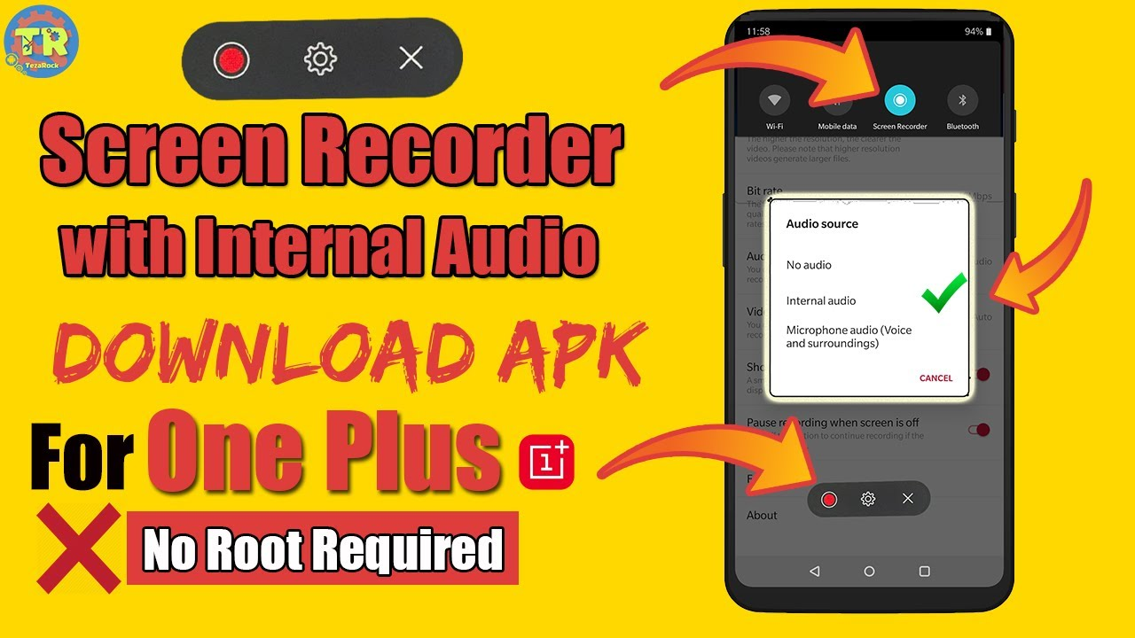Screen recorder with internal audio Download Latest Version