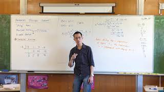 Polynomial Division (3 of 3: A useful shortcut - synthetic division)
