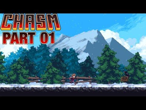 RPG Plays Chasm - Part 1 - Dig Deep (Alpha Gameplay)