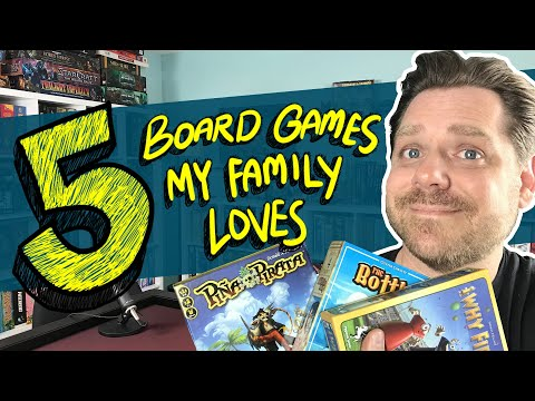 5 Board Games My Family Loves