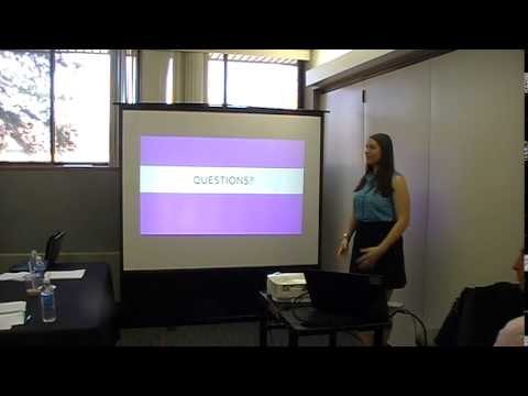 Heidi Nicklaus Masters Degree Presentation