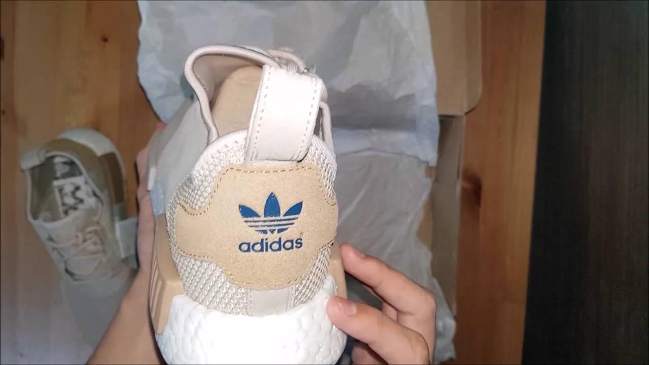 155554b1eb9bac UNBOXING Adidas NMD R1  Desert Sand Offspring 20  - YouTube